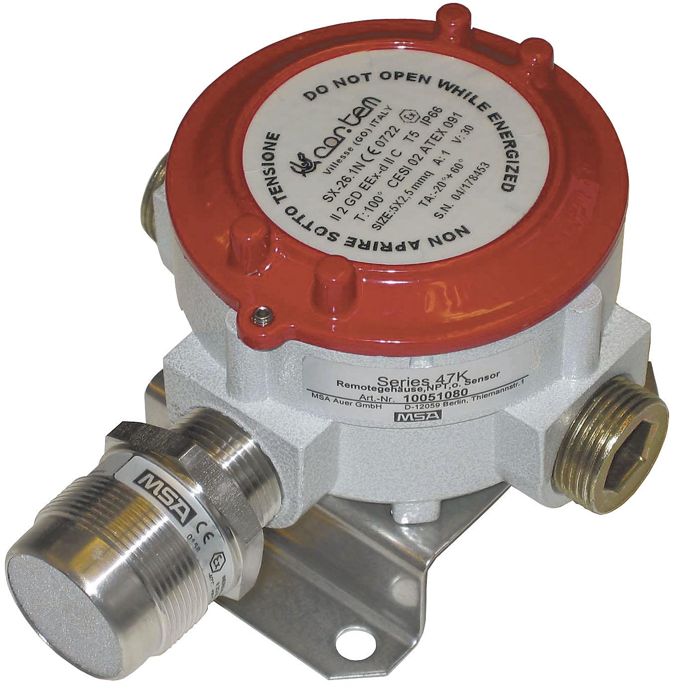Les capteurs série 47 K sont étudiers pour détecter les concentrations de gaz ou de vapeurs combustibles potentiellement
