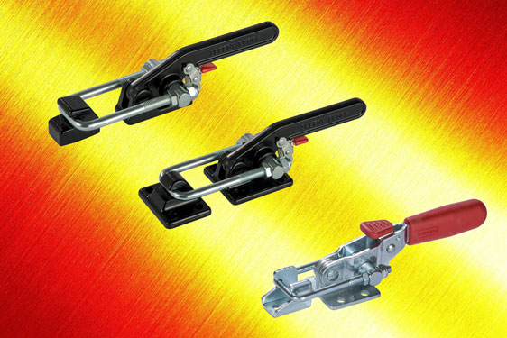 New range of latch clamps from Elesa with safety release trigger