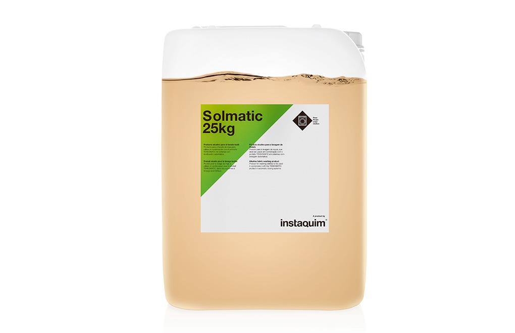 Solmatic, producto alcalino para el lavado textil.