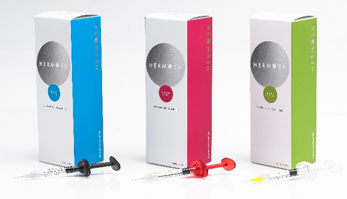HERMOSA Dermal Filler is a product designed to temporarily improve wrinkles using a soft tissue hyaluronic acid. The hya
