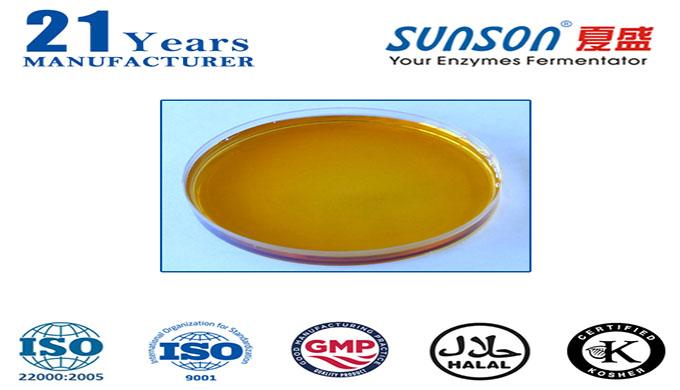 Product Characteristics Declared Activity:70,000 u/ml Production Organism:Bacillus licheniformis Physical Form:Liquid Co