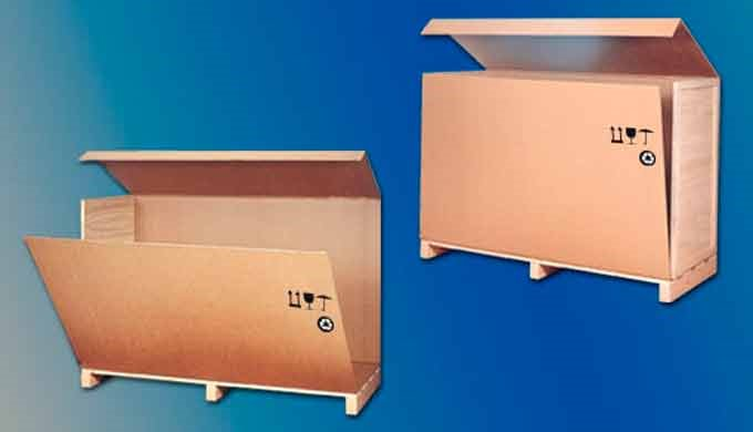 Los embalajes desarrollados en cartón-madera fabricados por Embalajes Echeberria, son desarrollos prácticos, ligeros y e