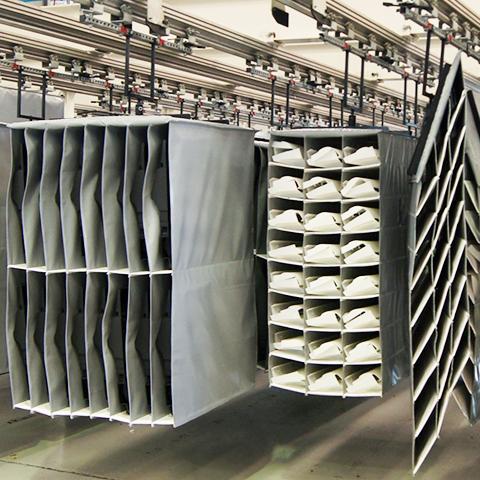 Embalaje para línea de producción
