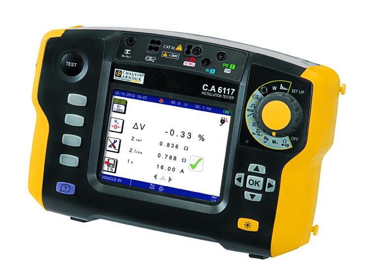 C.A 6117, nouveau contrôleur d'installation multifonction