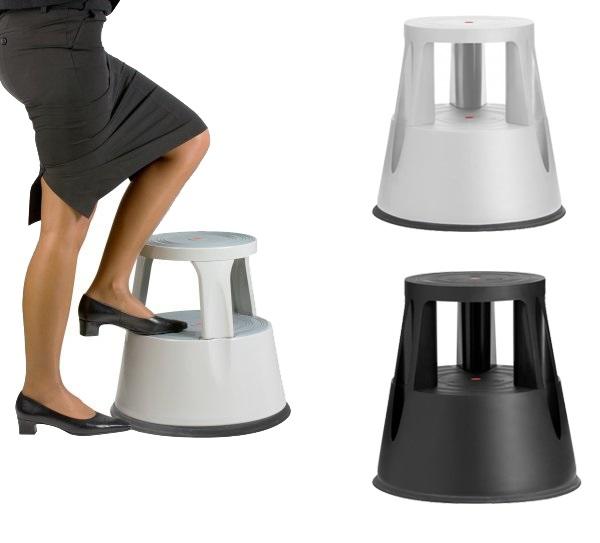 EDIMETA vous propose sa gamme de marchepieds ! 2 couleurs: noir ou gris Usages multiples, facile à déplacer avec ses 3