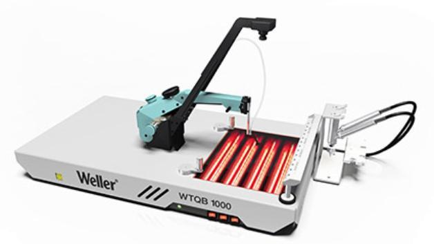 Cepelec vous propose lanouvelle station de réparation de cartes électroniques WTQB 1000de la marque Weller, la nouvell