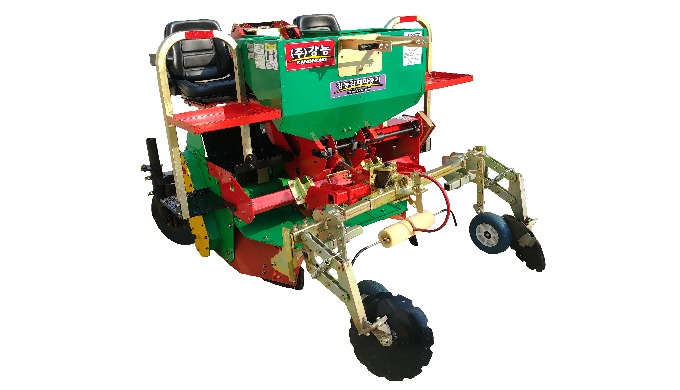Potato Planter | seeding machine ·  Perform every step of  planting     (Ridging, Planting, Covering,         Mulching)