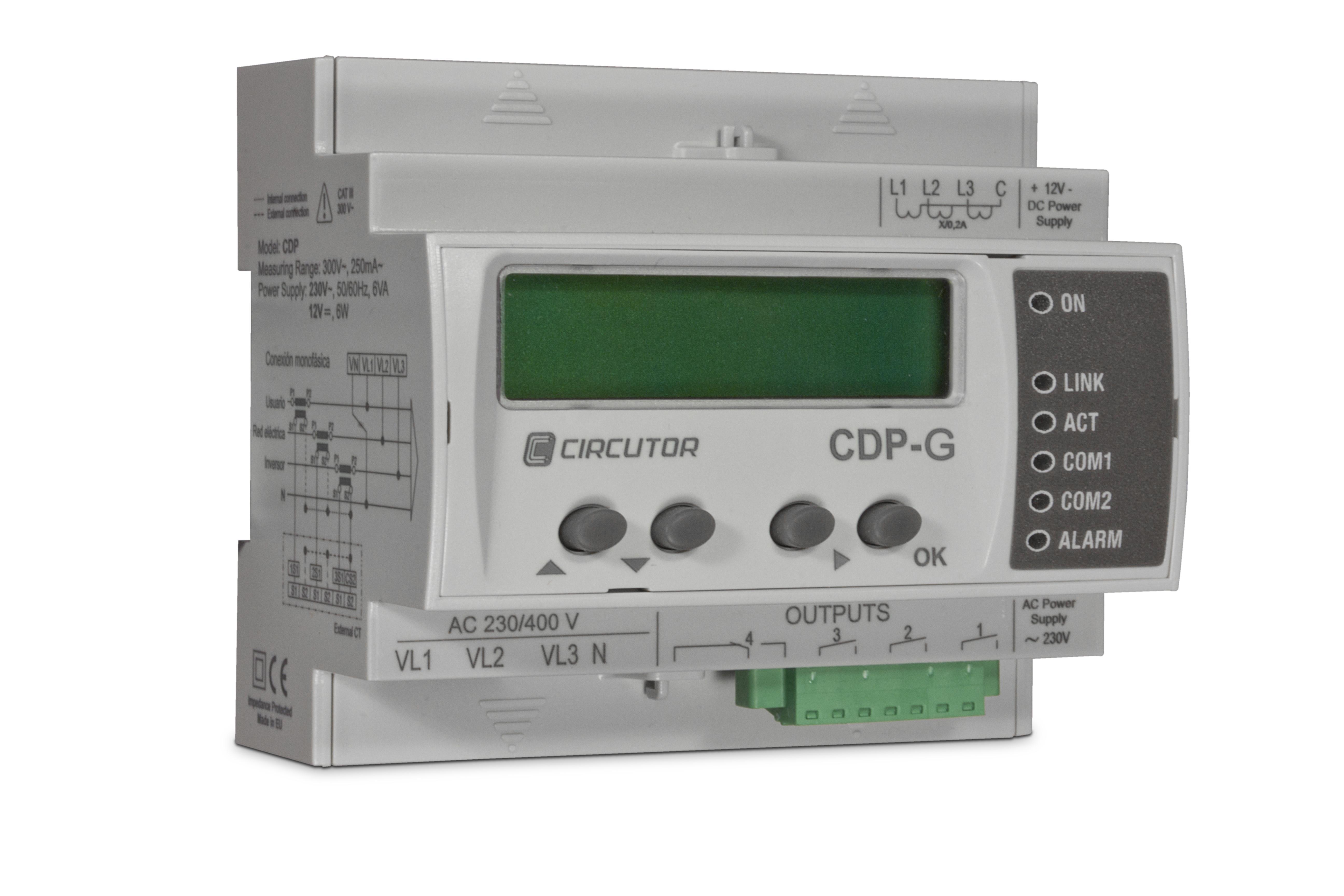 CDP, Controlador Dinámico de Potencia, inyección cero