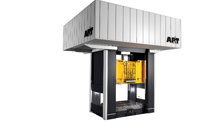 AP&T's servo hydraulic press setting a new standard for hydraulic presses — more energy efficient, quicker and easier to maintain