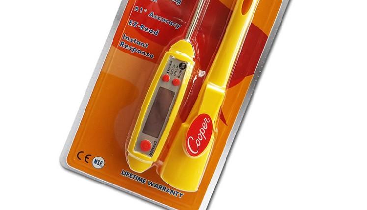 Waterproof Food Probe Thermometer with Jumbo Screen