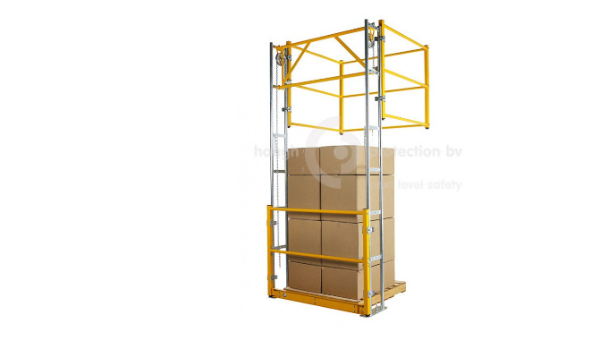 VARIOGATE® 30 Safety pallet gate system Since 1981 Haagh Protection offers various solutions for securing mezzanine floo