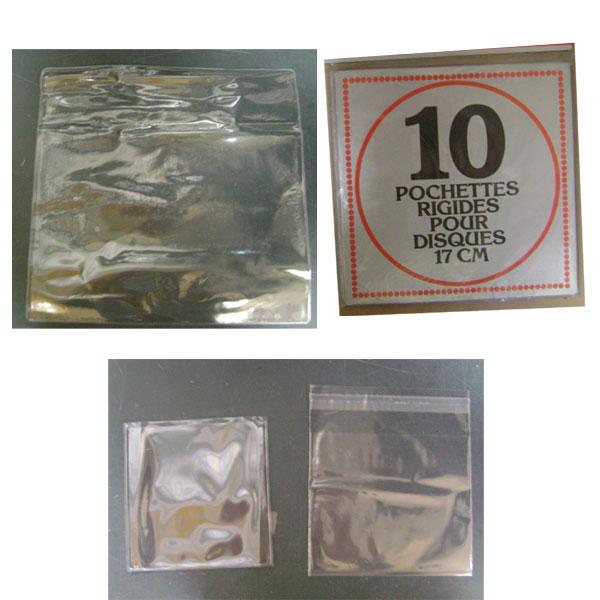 POCHETTES DE PROTECTION CD, 33 T & 45 T