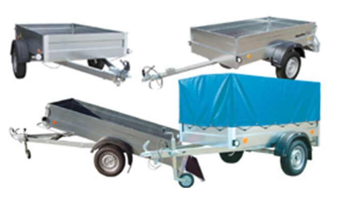 Quality trailers for passenger cars