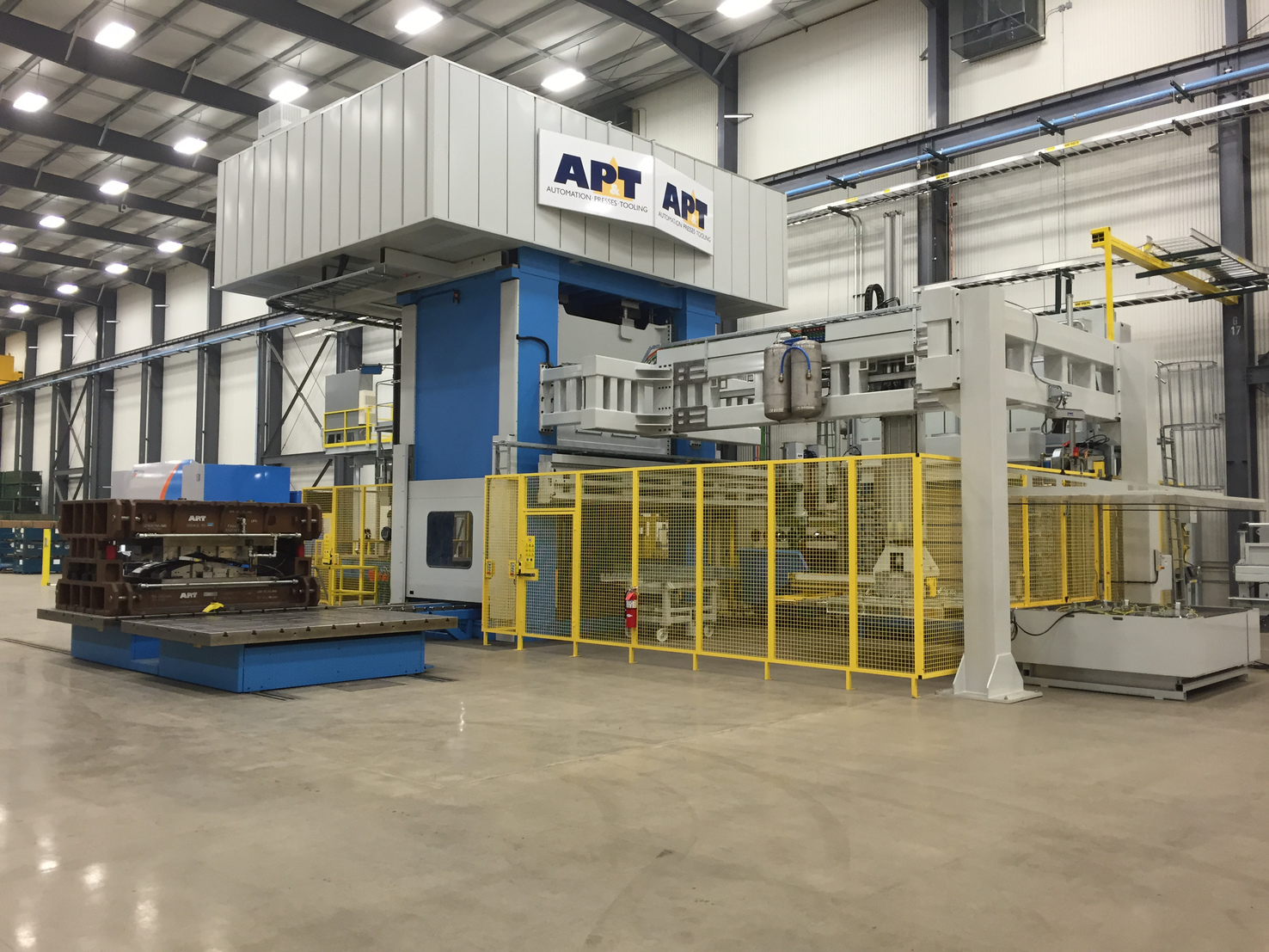 New press hardening line from AP&T in operation at DTG in Michigan