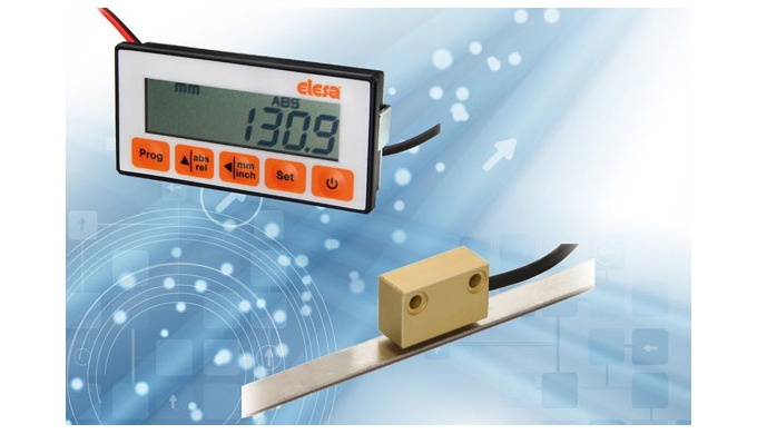 Elesa non-contact magnetic measuring system speeds machinery processes – adds precision