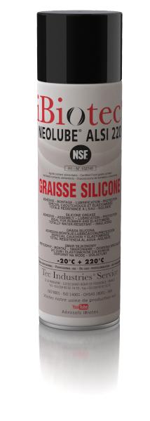 GRAISSE 100 % SILICONE Contact alimentaire NSF H1 agréée contact eau potable Spéciale robinets joints, élastomères, caou