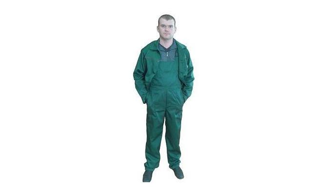 Состав сырья: хб - 76% хлопок, 24% полиэфир. Костюм для защиты от общепроизводственных загрязнений и механических воздей