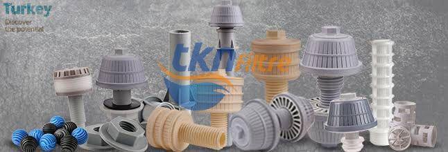 TKN FİLTRE MAKİNA PLASTİK SANAYİ VE TİCARET LİMİTED ŞİRKETİ, TKN Filtre Nozul - Biomedia Carrier (İçme suyu ve Atık Su arıtma Tesislerinde kullanılan filtre nozulu ve biyolojik dolgu malzemesi üretimi yapmaktadır.)