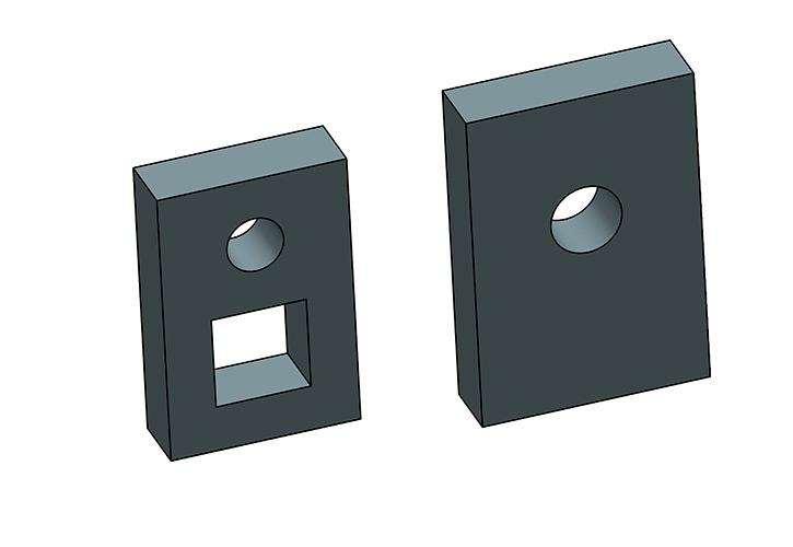 Cuchillas para corte de redondos y cuadrados: Fabricadas en acero especial para herramientas, llevan un proceso de afila