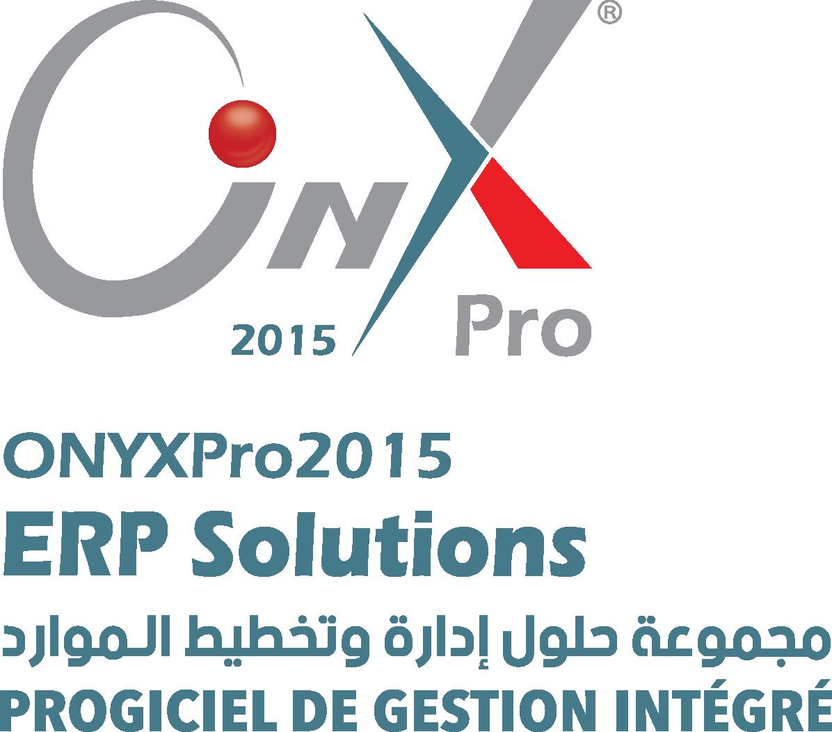 Système de gestion Intégré ERP Onyx Pro.