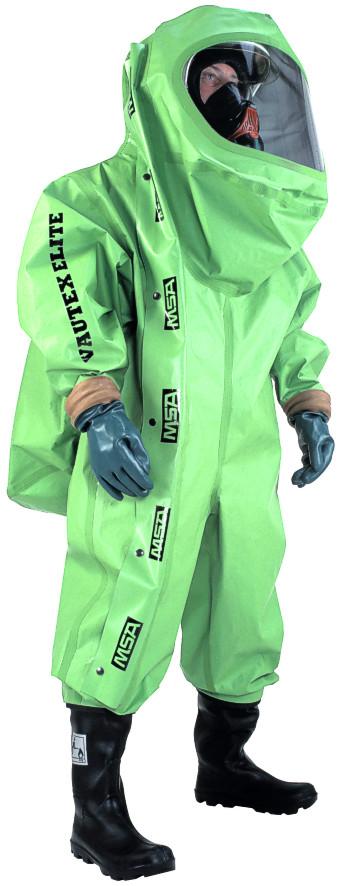 Saviez-vous que MSA fabrique des scaphandres chimiques depuis plus de 40 ans? Destinés aux Industriels, C.M.I.C et Forc
