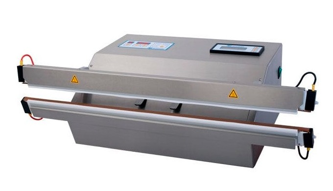 The Audion 720 MVMed isa powerful, stainless steel vacuum sealer equipped with a vacuum nozzle and bi-active sealing ba