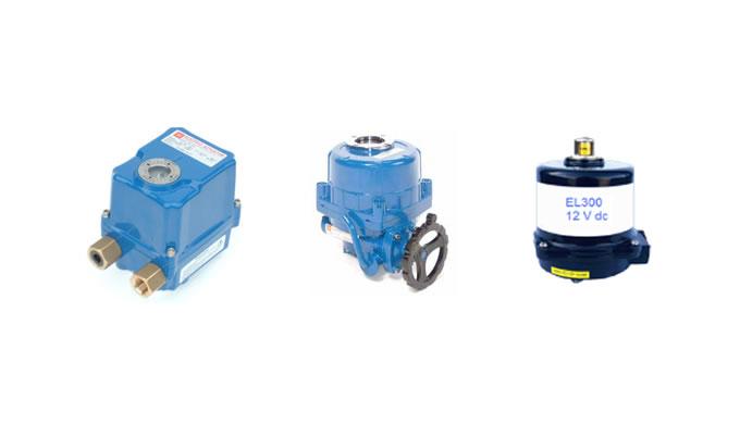 Electric 90/180 Degree Turn Actuators