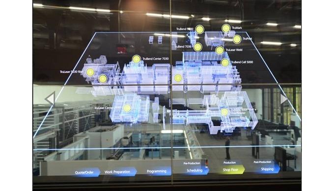 TRUMPF ofrece las soluciones inteligentes que mejor se adecúen para la producción. Estas permitirán aumentar la competit