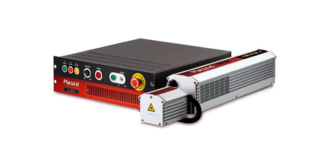 Solución flexible y muy compacta para la identificación de sus productos. La serie láser S-3000 ofrece una solución flex
