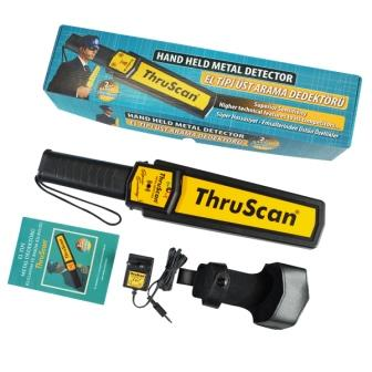 ThruScan Hand held metal detector is one of the most effective and economic metal detector. Sensitive Body Scanner and p