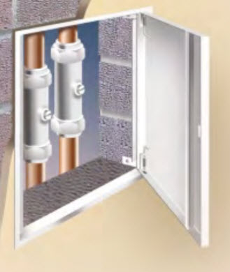 PANELCRAFT ACCESS PANELS have developed the SLIMPAN RANGE to provide a cost effective solution for access to building en