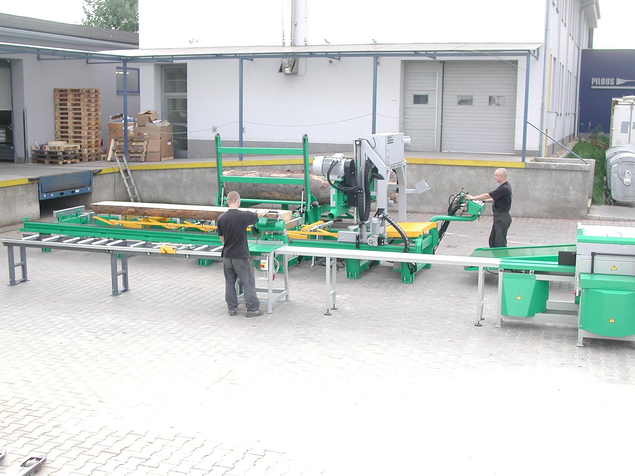 Kompletní linka ke zpracování kulatiny XR