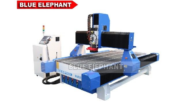 Features:    1.  There are two kinds of ATC CNC Router Machines, and this machine was designed with  linear tool changer