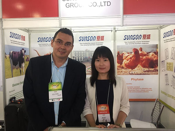 Sunson attend AVESUI 2017 (Latin American Trade Fair for the Poultry and Swine)