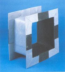 Expansions joints to applications in not agresive working environments, mainly used with air (Ventilation, air conductio