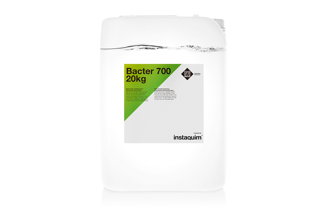Bacter 600, sanitizante, desodorizante y blanqueante.
