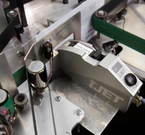 Cabezal de impresión de alta resolución ideal para marcar en cajas y embalajes con poco espacio. Este cabezal de impresi
