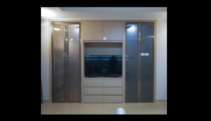 Specialized in built-in furniture like dressroom, closet, kitchen shelves, TV shelves and office furnitrue.