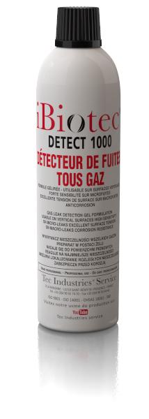 AÉROSOL DÉTECTEUR DE FUITES TOUS GAZ ANTICORROSION, ANTI OXYDATION, TOUS MATÉRIAUX GÉLIFIÉ POUR DÉTECTION SUR SURFACES V