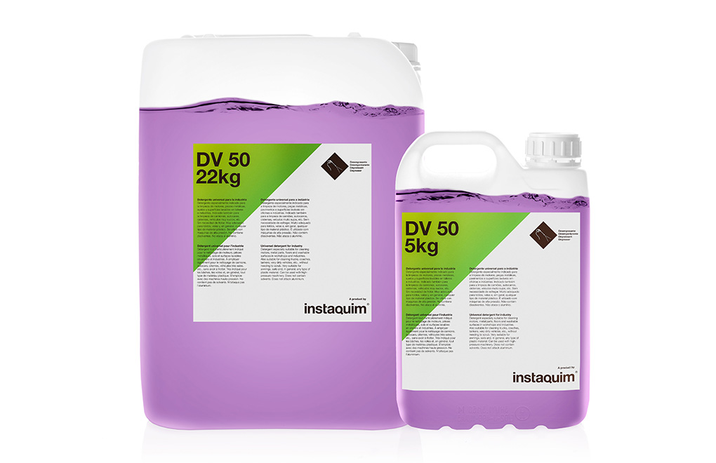 DV 50, detergente universal para la industria.