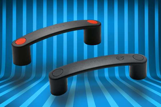 Elesa's EBP range of bridge type pull handles in glass fibre reinforced polyamide has been augmented with two new versio