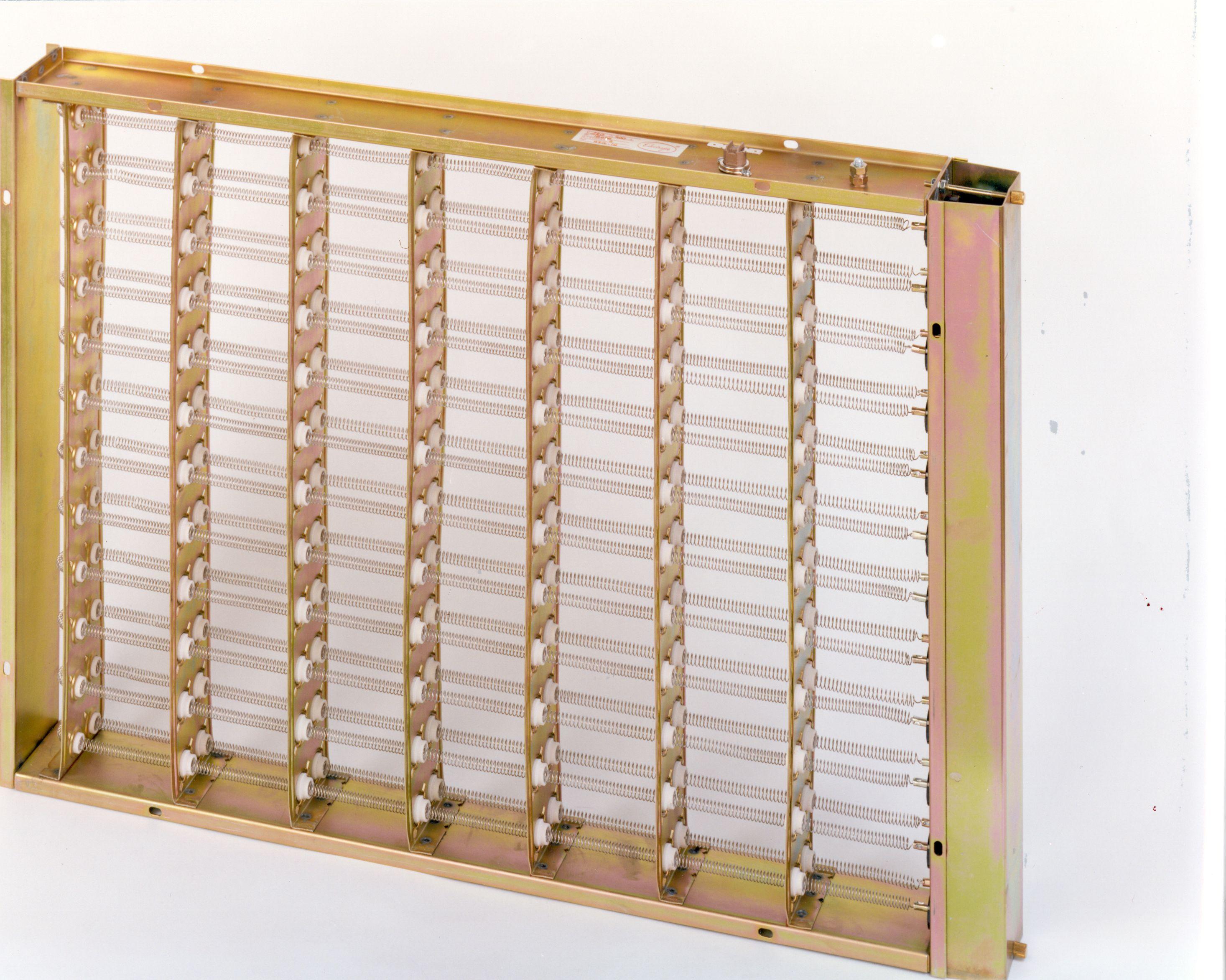 Baterías con resistencias eléctricas para aire acondicionado