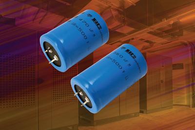 Condensador Electrolítico con Voltage