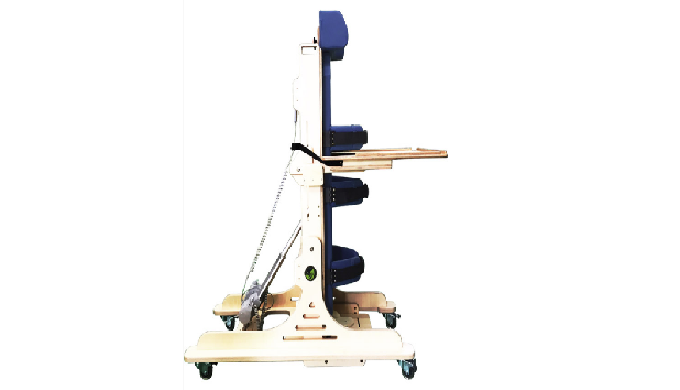 -Allows assisted walking devices to aid impaired users -Allows walking and strength training -Refinements include head s