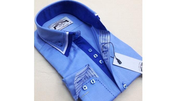 Les chemises d'hommes Triple collier