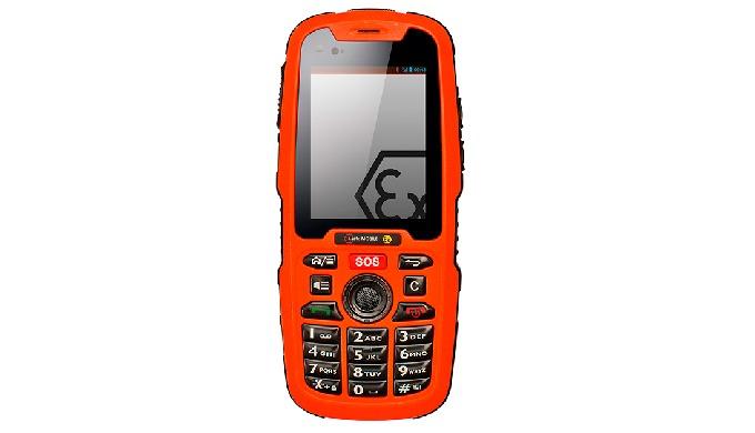 Un móvil ATEX zona 1/21 logra una comunicación con llamadas, mensajes y Push-To-Talk en áreas con peligro de explosión,