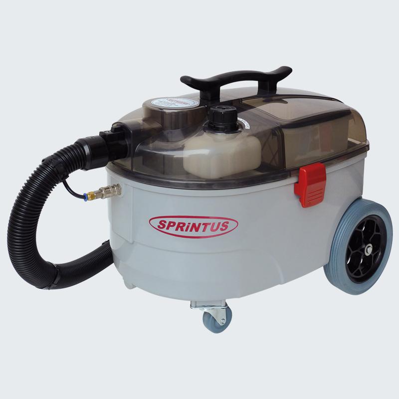Aspiratorul profesional cu spalare injectie-extractie Sprintus SE 7este un echipament pentru curatenie fiabil si practi