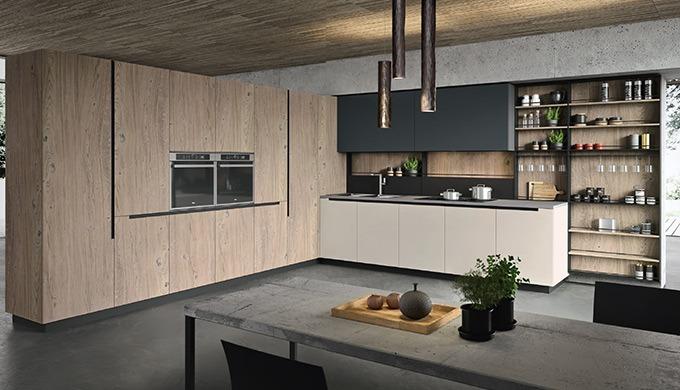 La cuisine est l'une des pièces maîtresses de la maison, un lieu d'expression, de rassemblement et d'échanges. Nous somm