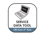 SERVICE DATA TOOL FOR JUMBO CARE 2ND GENERATION