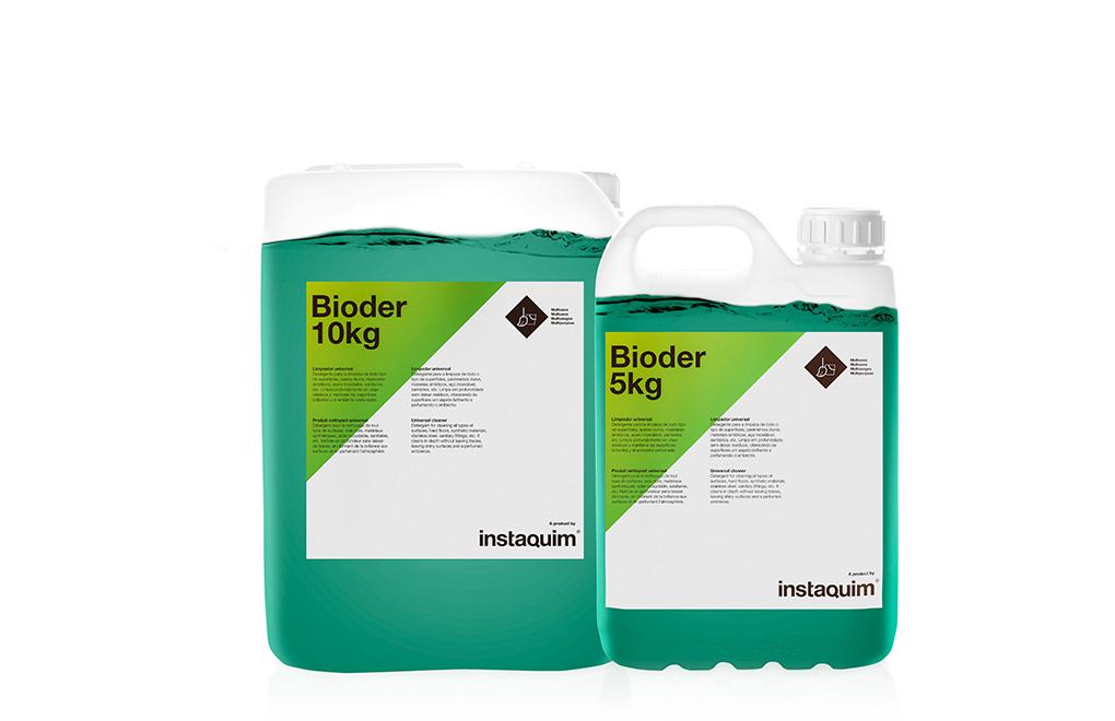 Bioder, limpiador universal.